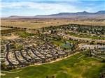View larger image of An aerial view of the campground at THE SPRINGS AT BORREGO RV RESORT  GOLF COURSE image #2