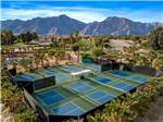 View larger image of An aerial view of the pickleball courts at THE SPRINGS AT BORREGO RV RESORT  GOLF COURSE image #3