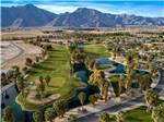 View larger image of An aerial view of the golf course at THE SPRINGS AT BORREGO RV RESORT  GOLF COURSE image #4