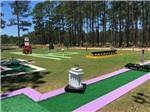 View larger image of Miniature golf course at SUN ROAMERS RV RESORT image #8