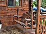 View larger image of Cabin with deck at CLAYS PARK RESORT image #2