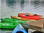 View larger image of Kayaks at CLAYS PARK RESORT image #4