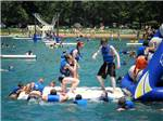 View larger image of Kids playing at waterpark at CLAYS PARK RESORT image #5