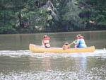 View larger image of Family boating at PARADISE STREAM FAMILY CAMPGROUND image #6