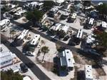 View larger image of Aerial view of RVs at TAMPA SOUTH RV RESORT image #6