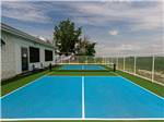 View larger image of Aerial view over campground at CAMPING LA CLE DES CHAMPS RV RESORT image #2