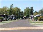 View larger image of Swimming pool at campground at CAMPING LA CLE DES CHAMPS RV RESORT image #3