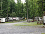 View larger image of Gravel roads through sites at DEER RUN CAMPING RESORT image #2