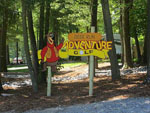 View larger image of Sign leading into campground resort at DEER RUN CAMPING RESORT image #6