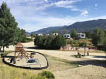 View larger image of An overview of the playground at ARROWHEAD POINT CAMPGROUND AND CABINS image #4