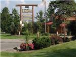 View larger image of Sign leading into campground resort at EVERGREEN PARK RV RESORT image #2