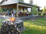View larger image of Volleyball court at TOUTLE RIVER RV RESORT image #7