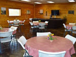 View larger image of Dining area at RED RIVER ROSE RV RESORT image #4