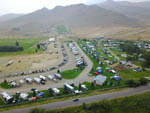 View larger image of Aerial view of the RV park at CHALLIS GOLF COURSE RV PARK image #7