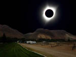 View larger image of Total eclipse over the park at CHALLIS GOLF COURSE RV PARK image #8