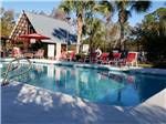 View larger image of Swimming pool at campgrounds at SOUTHERN RETREAT RV PARK image #2