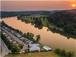 View larger image of Swimming pool at campground at TWO RIVERS LANDING RV RESORT image #3