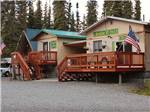 View larger image of Park office buildings at KLONDIKE RV PARK  CABINS image #1