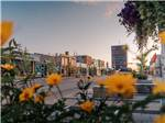 View larger image of An aerial view of the town at GRANDE PRAIRIE VISITOR INFORMATION CENTRE image #2