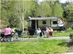 View larger image of Campers relaxing at SEVEN FEATHERS RV RESORT image #7