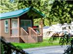 View larger image of Cabin with deck at BIRCH BAY RESORT -THOUSAND TRAILS image #5