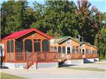View larger image of Cabins with decks at MEMPHIS JELLYSTONE CAMP RESORT image #8