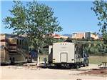 View larger image of RVs in sites with view of the resort at ISLETA LAKES  RV PARK image #12