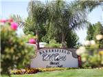 View larger image of Sign at entrance to RV park at BAKERSFIELD RV RESORT image #1
