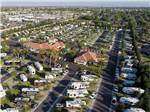 View larger image of Amazing aerial view over resort at BAKERSFIELD RV RESORT image #11