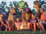View larger image of The front entrance sign in front of the waterpark at CHINCOTEAGUE ISLAND KOA image #2