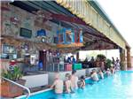 View larger image of Swimming pool at campgrounds at CAJUN PALMS RV RESORT image #11