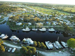View larger image of Amazing aerial view over resort at THE GLADES RV RESORT image #12