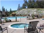 View larger image of Pool and hot tub near forest at JACKSON RANCHERIA RV PARK image #4