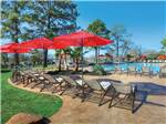 View larger image of Swimming pool with outdoor seating at LAKE CONROE RV image #2