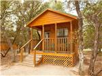 View larger image of Cabin with deck at MEDINA LAKE RV image #4