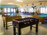 View larger image of Pool table in game room at VERDE VALLEY RV  CAMPING RESORT image #7