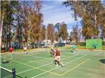 View larger image of Tennis courts at WILDERNESS LAKES RV RESORT image #7