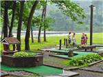 View larger image of Miniature golf course at HERSHEY RV  CAMPING RESORT image #1