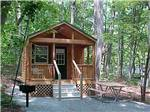 View larger image of Cabin with deck at MADISON VINES RV RESORT  COTTAGES image #6