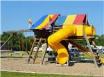 View larger image of Playground with swing set at DEER CREEK VALLEY RV PARK image #8
