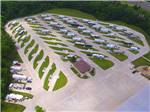 View larger image of Aerial view over campground at DEER CREEK VALLEY RV PARK image #11
