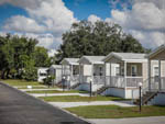 View larger image of A line of single wide mobile homes at MOSS LANDING RV RESORT image #6