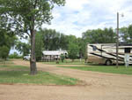 View larger image of Trailers camping at DAKOTA SUNSETS RV PARK  CAMPGROUND image #2