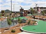 View larger image of The miniature golf course at YOGI BEARS JELLYSTONE PARK  LARKSPUR image #4