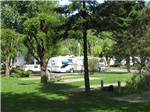 View larger image of RVs and trailers at campground at BLUE ANCHOR RV PARK image #1