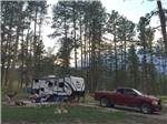 View larger image of Family camping at RAFTER J BAR RANCH CAMPING RESORT image #8