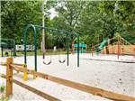 View larger image of Playground with swing set at MAYS LANDING CAMPGROUND image #3
