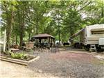 View larger image of Trailer camping at MAYS LANDING CAMPGROUND image #6