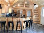 View larger image of Inside cabin at NORMANDY FARMS FAMILY CAMPING RESORT image #9