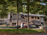 View larger image of RV parked at campsite at NORMANDY FARMS FAMILY CAMPING RESORT image #12